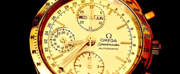 Montre de luxe : zoom sur la montre pour homme Omega