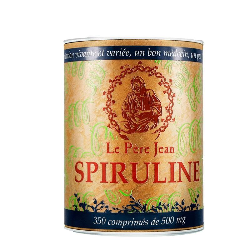 Copléments Alimentaires Spiruline en comprimés
